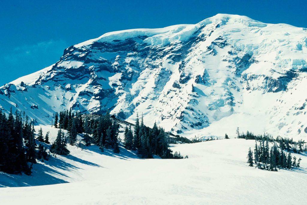 North Face of Mount Rainier
