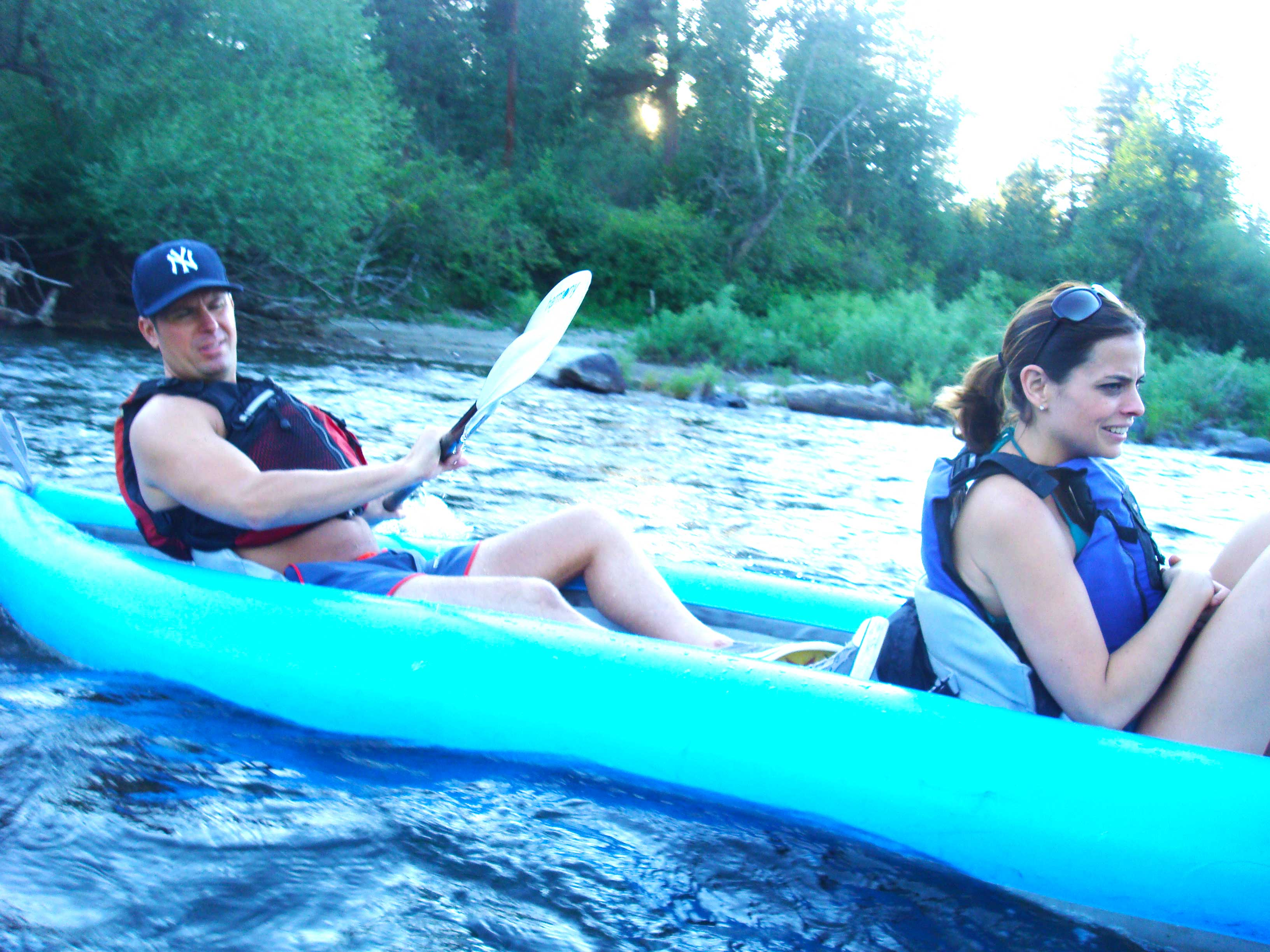 jon wilmot- floating the spokane river | out there outdoors