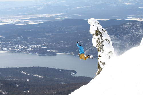 Flying high over Whitefish