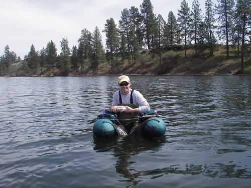 Early season angling fly fishing amber lake out there for Cheney lake fishing report