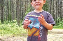 Catching bugs and butterflies near Glacier National Park. Photo: Amy McCaffree
