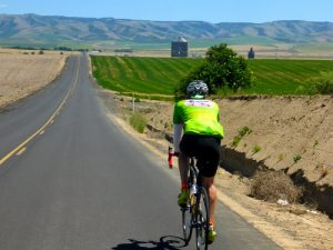 The annual Ann Weatherill Cycling Classic in the wine country of southeast Washington.
