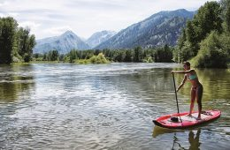 Leavenworth paddleboarding. Photo: Icicle TV