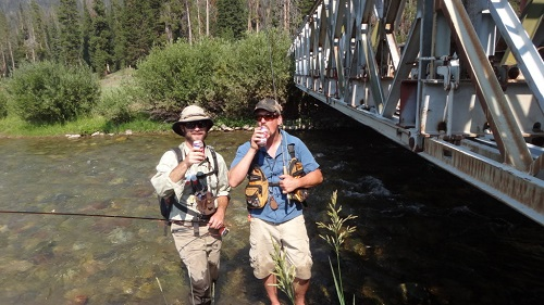 Learn to fly fish at one of Swedes Fly Shop's free Fly Fishing 101 classes.
