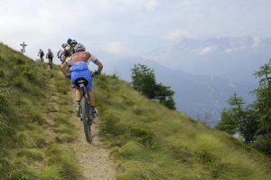 The Sun Mountain Trail system is great for groups of riders with mixed ability levels.