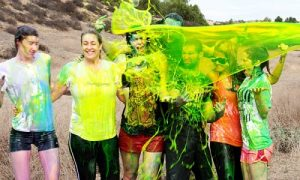 Photo courtesy The Slime Run 5k