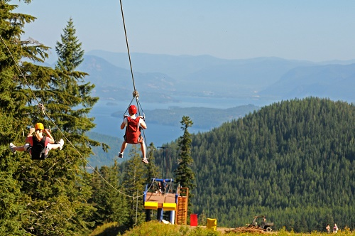 Schweitzer Mountain Resort is offering six week-long camp sessions that include a mix of activities, from chair lift rides, climbing on the wall, swimming, hiking, play mining at the Sluice Box, and other games and activities.