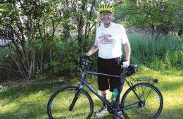 Valleyfest's Cycle Celebration founder, Bill Gothmann. Photo: Carolbelle Branch