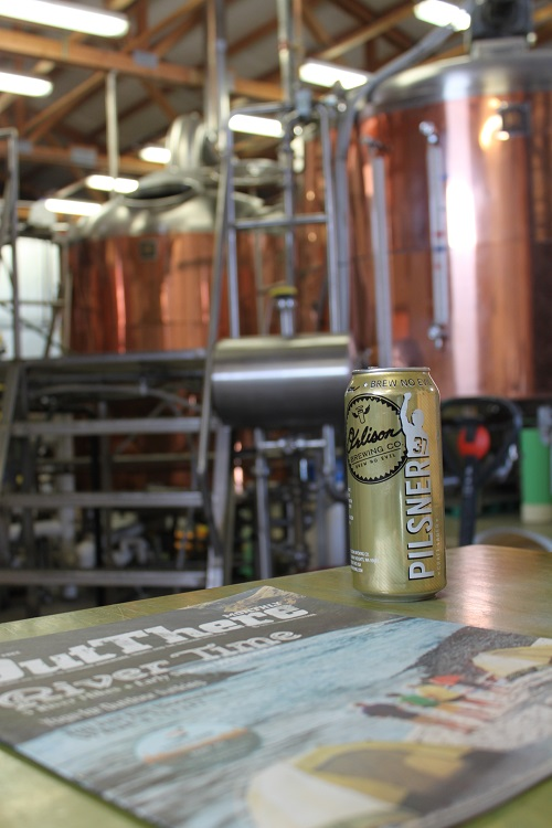 Pilsner canning. Photo: Young Bennett