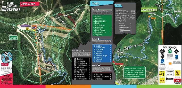 Silver Mountain Bike Park.