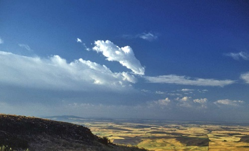 Steptoe Butte State Park in Whitman County