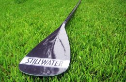 The Stillwater is roughly half the weight of most entry-level SUP paddles. Photo courtesy Stillwater