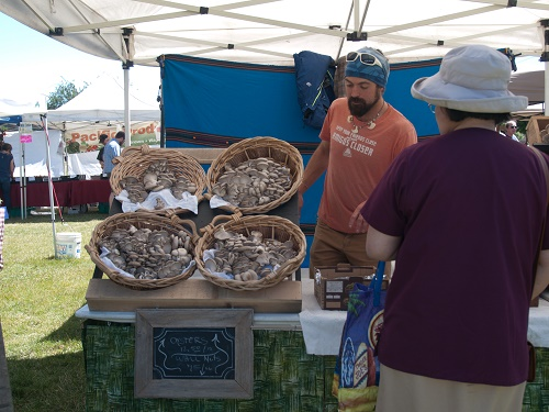 Now whenever we go on vacation, we find the local farmers' market wherever we're going and plan our trip agenda and meals around it. Photo: Amy Silbernagel McCaffree