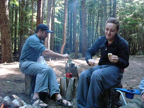 Trailcooking.com's one-pot recipes can be modified for car camping. Photo: Shallan Knowles