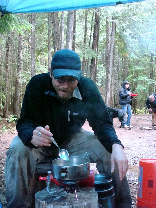 With a little extra planning and preparation before leaving home, you can eat well while either car camping or backpacking. Photo: Shallan Knowles