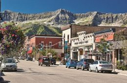 Downtown Fernie, British Columbia. Photo courtesy of Tourism Fernie
