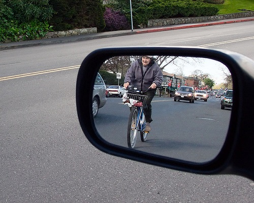"""Bike commuting has taught me to slow down and relax when I drive."""