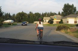 Be a good driver. Watch for bikes. Photo: Hank Greer