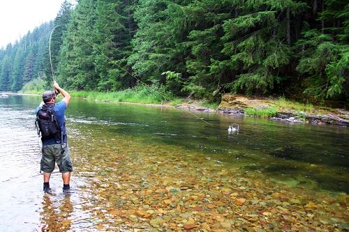 Fish on! All photos courtesy of David Uhlenkott