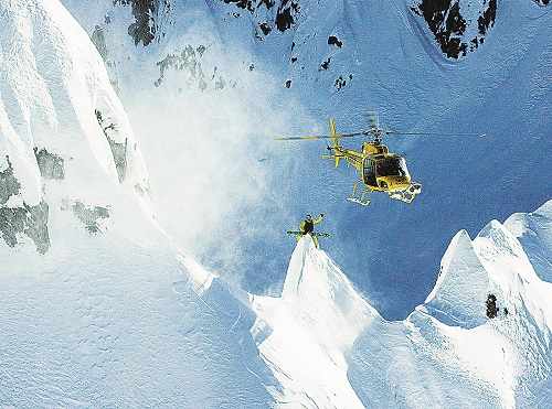 Ian McIntosh, Alaska. Photo courtesy of Teton Gravity Research