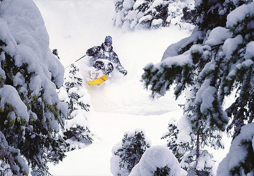 Unknown skier, Teton Mountains, Wyoming. Photo courtesy of Teton Gravity Research