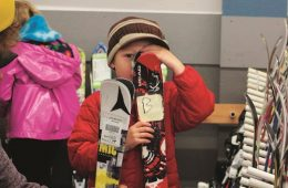 Ski Swap finds for kids. Photo courtesy of Winter Swap
