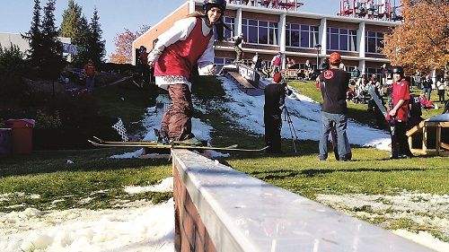 The Grind: How the Region's Biggest Rail Jam Came to EWU and Why You Need to Be There
