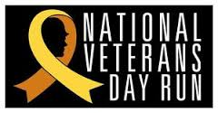 National Veterans Day Run November, 15