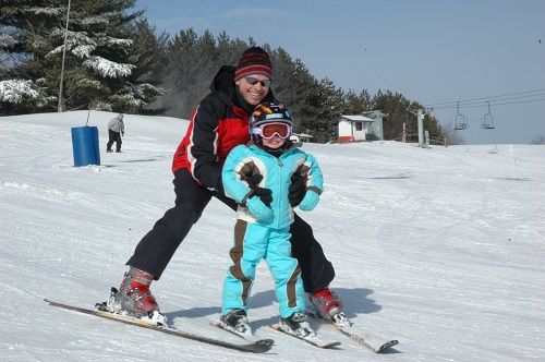 There's nothing better than sharing the sport you love with your kids. Photo: Matt Sawyer, Ski Butternut