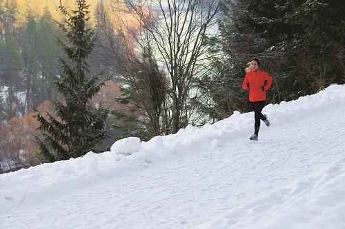 Ashley Bruck running in Riverside State Park. Photo: Jon Jonckers