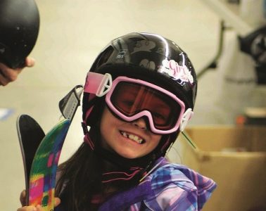 Ski swaps, clearance deals at local ski shops, Craigslist and eBay are great for finding gear on a tight budget. Photo courtesy of Winter Swap