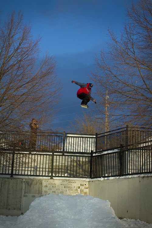 """I'm 26 years old, but I still love riding the park,"" Schmidt says. Photo: Tom Sorenson"