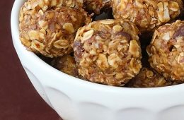 Make these Super Power Balls, perfect for hiking, biking, skiing, or a speedy breakfast.
