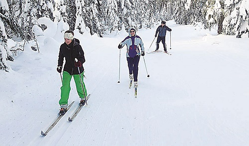 The Nordic Trail System on Mount Spokane is one of the best in the Northwest. Photo courtesy of Spokane Nordic Ski Association
