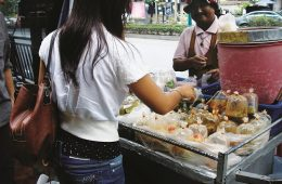 Street food in Thailand. Make good choices and stay healthy. Photo: Shallan Knowles