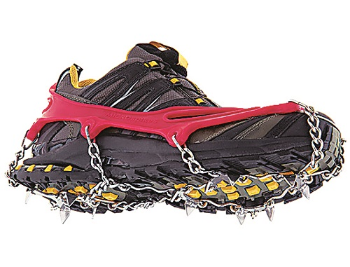 Ward off a bad case of the slippies on your next icy run.