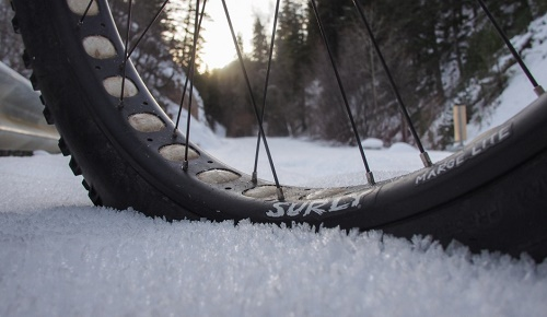 Trails that have a base provide a better ride than loose snow.