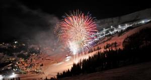 Lighting up the Schweitzer sky. Photo: Schweitzer Mountain Resort