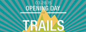 Opening Day for Trails Spokane (March 28, 2015)