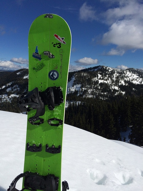 If you're interested in giving splitboarding a try, North Idaho College's Outdoor Pursuits program offers rentals for all the items you will need for a backcountry day tour at most popular spots in the Idaho Panhandle. Photo: Larry Banks