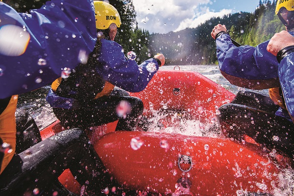 World-class whitewater in your own backyard.