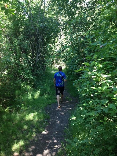 Hiking the trails around Kokanee Creek Campground. Photo: Derrick Knowles