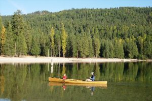 Paddling Priest Lake. Photo: Lisa Swanson