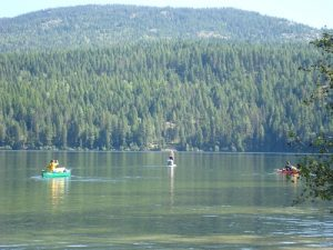 Upper Priest Lake is the place to paddle. Photo: Shallan Knowles