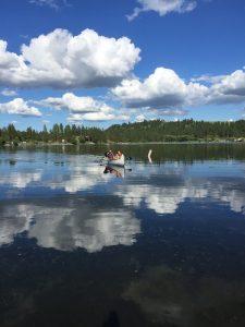 Photo of Voyageur canoe courtesy of Brook Swanson