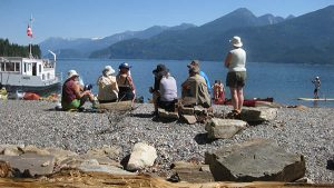 Kootenay Lake picnic time. Photo: S. Michal Bennett.