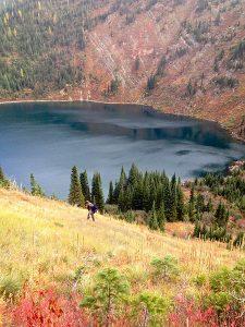 Lone Lake here we come. Photo: Derrick Knowles.