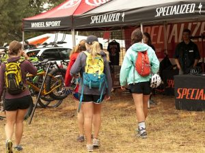 Demo the latest bikes for free on the trails at Camp Sekani