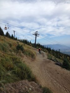 Whitefish Mountain Resort's lift-served mountain bike trails are well worth the trip. Photo: Derrick Knowles