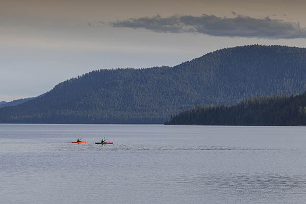 Paddlers on Upper Priest. // Photo: Jon Jonckers.